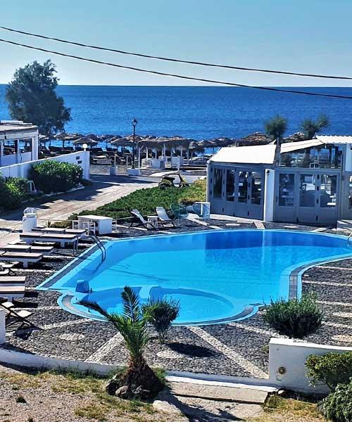Hotel na Santoriniju
