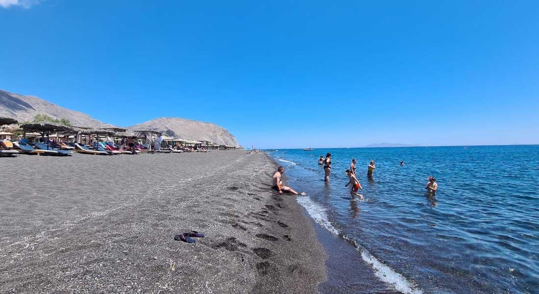 Plaže na Santoriniju