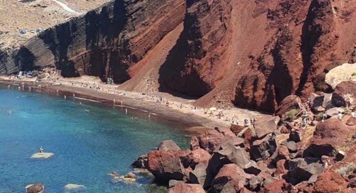 Putovanje na Santorini: plaže na najljepšem grčkom otoku