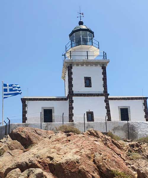 Svjetionik Akrotiri na Santoriniju