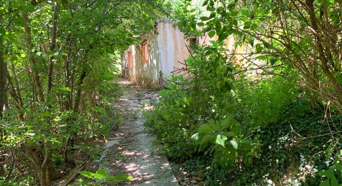 Staza prema utvrdi Šarengrad