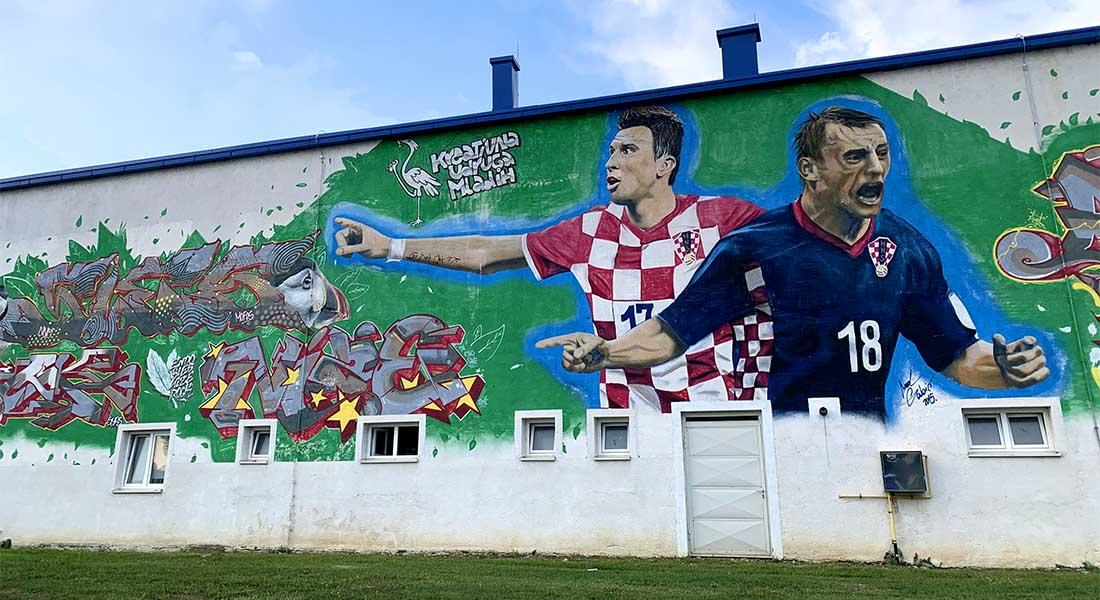 Mural Mandžukća i Olića