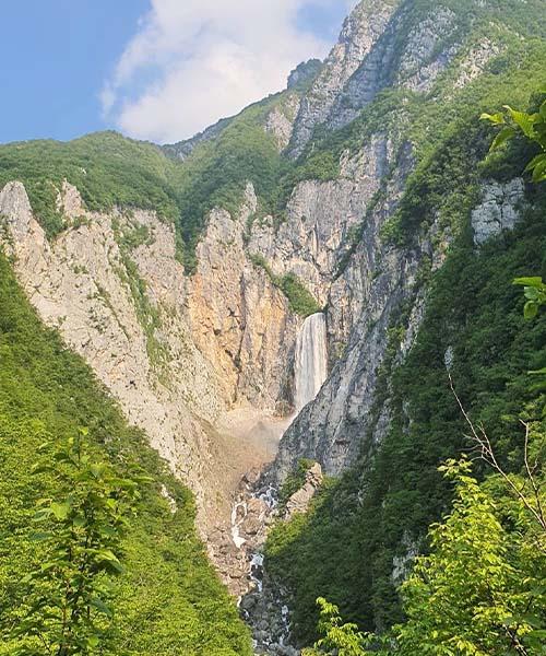 Slap Boka u Sloveniji