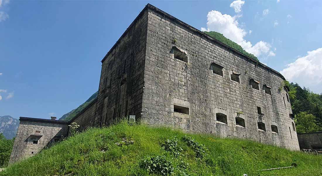 Utvrda Kluže u Sloveniji
