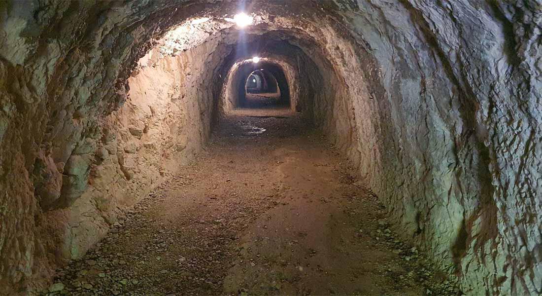 Tunel prema utvrdi Hermann u Sloveniji