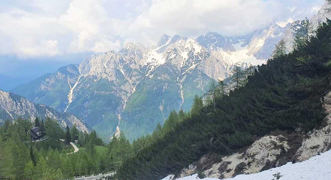 Vršič u Sloveniji