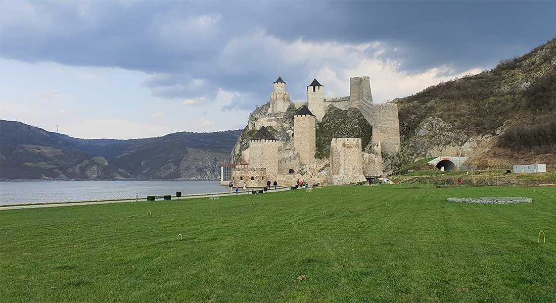 Tvrđava Golubac na Dunavu
