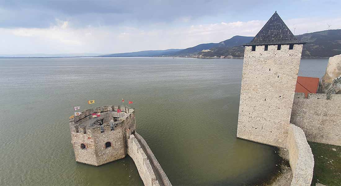 Tvrđava Golubac u Srbiji