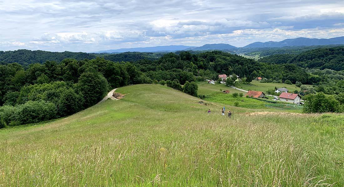 Staza od Velikog Tabora do Grešne Gorice