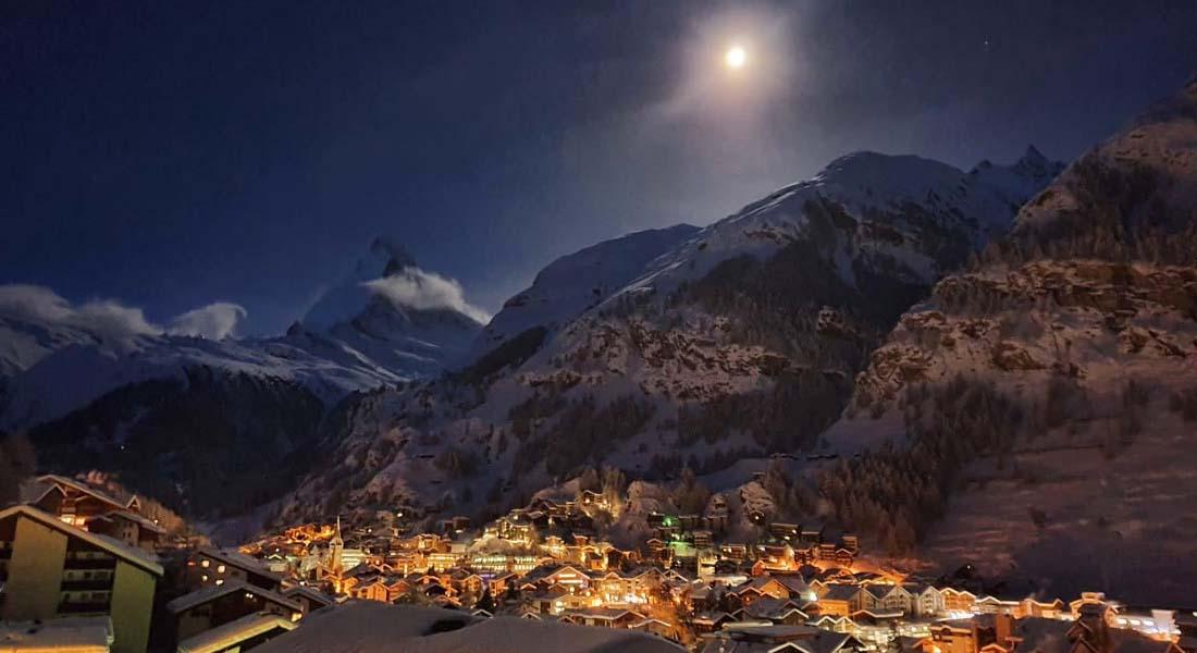 Vrh Matterhorn u Švicarskoj