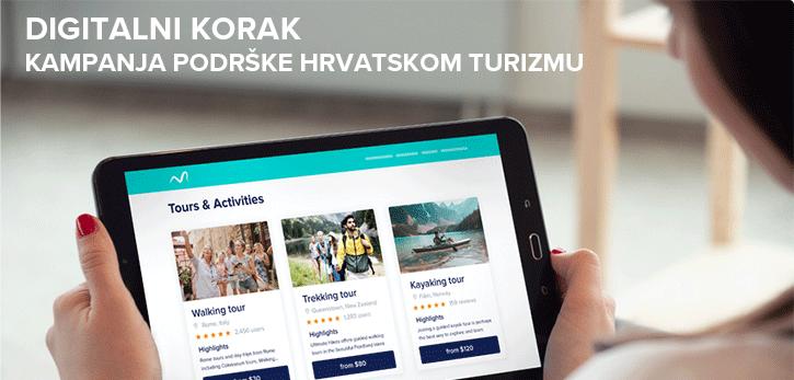 Digitalni korak - podrška hrvatskom turizmu