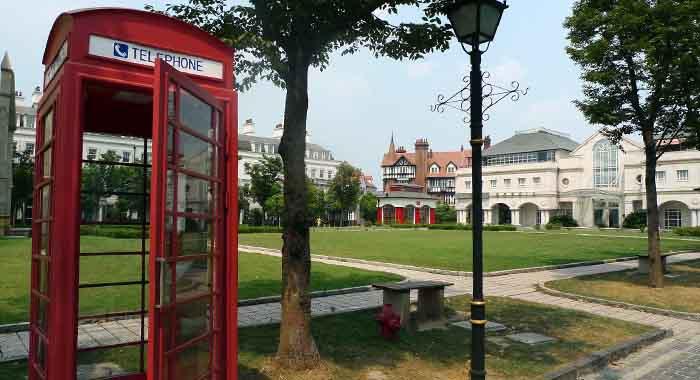 Thames town, engleski grad u srcu Kine