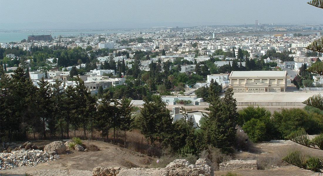 Vidikovac na Tunis