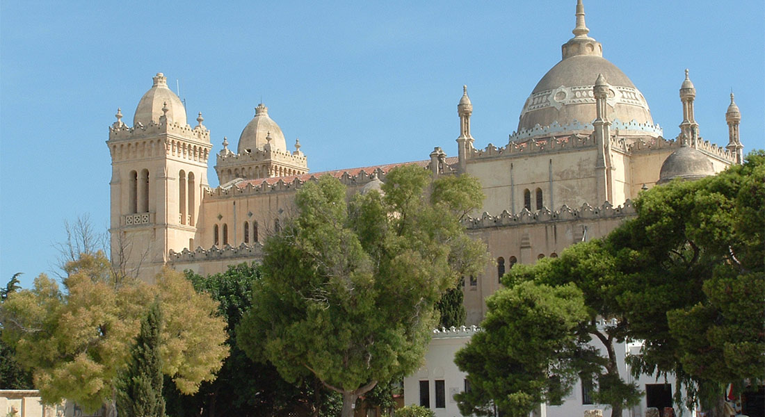 španjolska katedrala u Tunisu