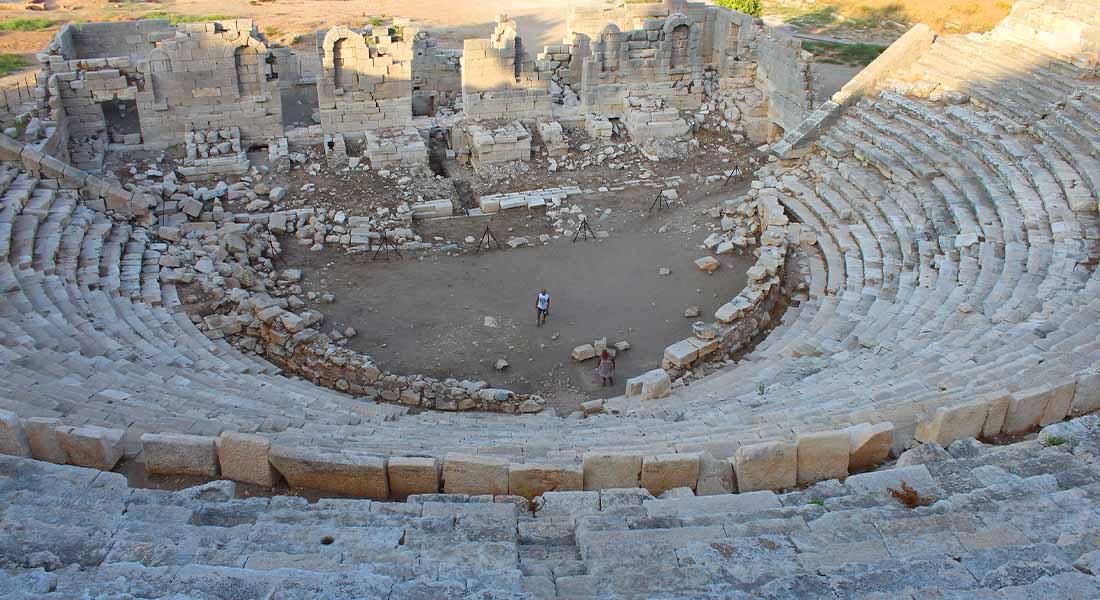 Patara u Turskoj: kazalište