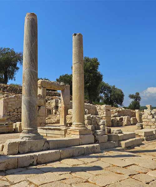 Stari rimski grad u Patari