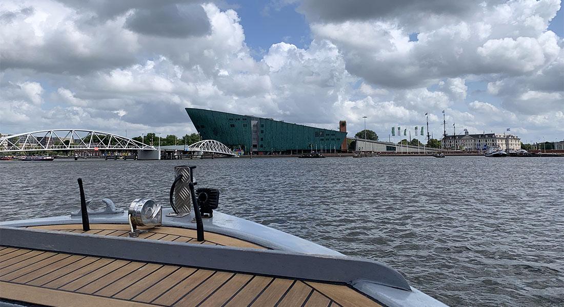 Vožnja brodom po Amsterdamu 2