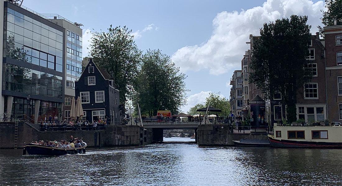 Vožnja brodom po Amsterdamu 4