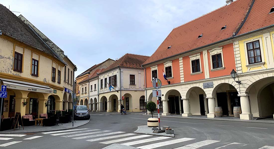 Stari centar u Vukovaru