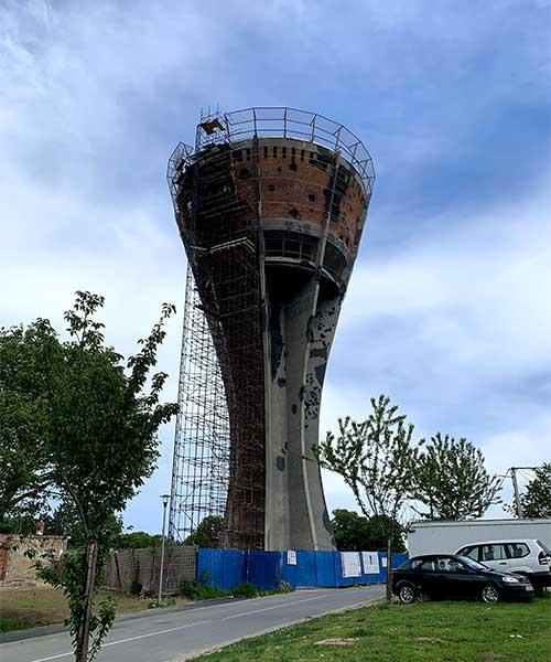 Simbol Vukovara: Vodotoranj
