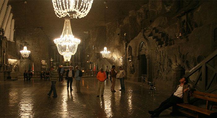 Rudnik soli u Poljskoj: podzemni grad u središtu zemlje